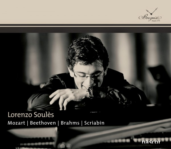 CD Lorenzo SOULES Mozart - Beethoven - Brahms - Scriabin